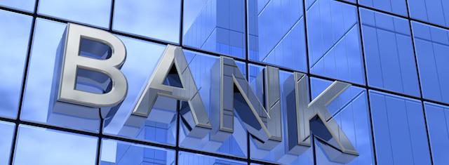 銀行で手形割引を利用するイメージ